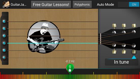 Guitar Jamz Polyphonic Tuner - screenshot thumbnail