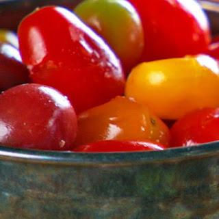 Seasoned Smashed Tomatoes.