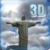 3D Christ the Redeemer LWP