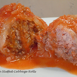 Polish Stuffed Cabbage Rolls with Grandma.