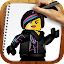 Draw Lego Movie Characters