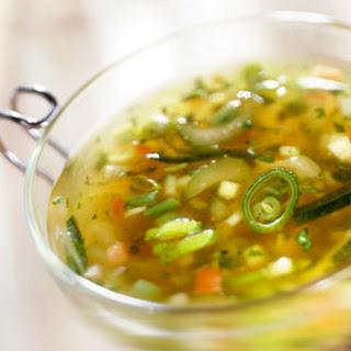Groentensoep Met Courgette En Tomaat