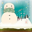 Love of Snowman LiveWallpaper icon