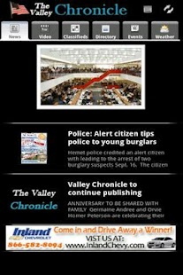 The Valley Chronicle- screenshot thumbnail