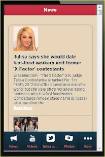 Tulisa Contostavlos - Latest - screenshot thumbnail