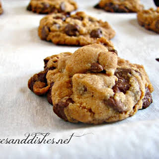 Peanut Butter Chip Chocolate Chip Cookies.
