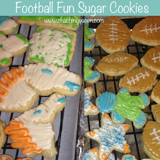 Cha Ching Queen's Sugar Cookies and Frosting