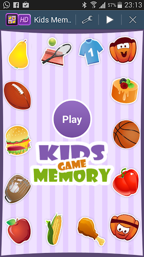 Kids Memory Booster Game