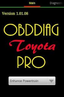 OBDDiag Toyota Pro - screenshot thumbnail