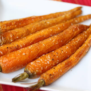 Roasted Baby Carrots.