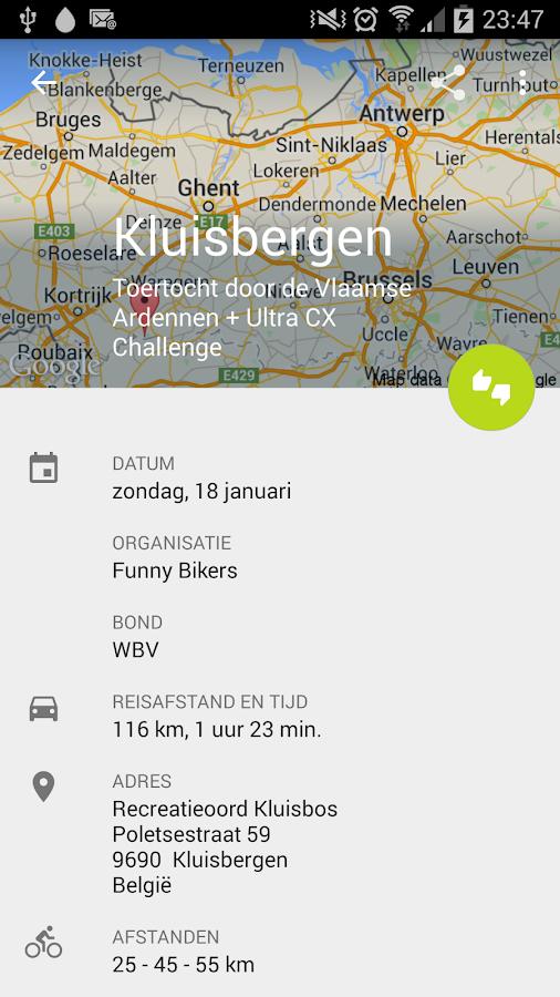 Mountainbike.be - screenshot
