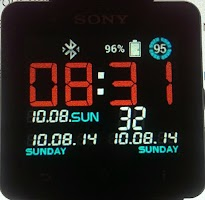 Screenshot of VirtualTech clock SmartWatch 2