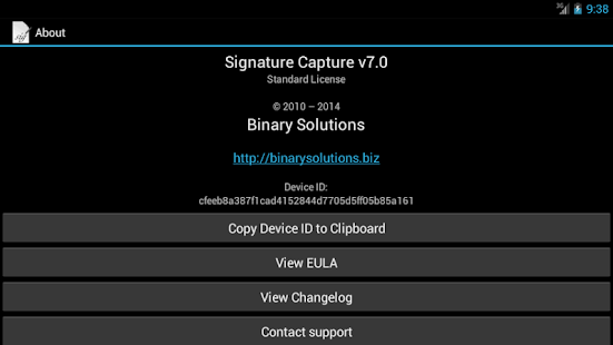 Signature Capture- screenshot thumbnail