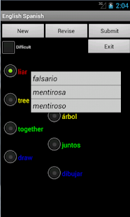 English Spanish Tutor - screenshot thumbnail