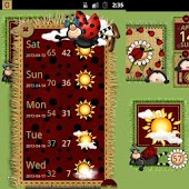 Cute Ladybugs Widgets