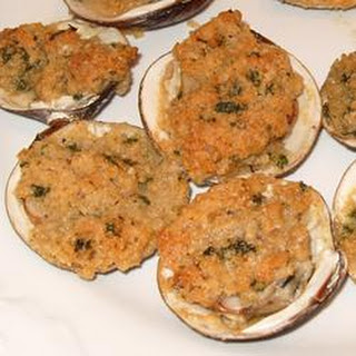 Lisa's Best Baked Clams.