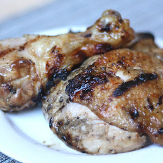 Carolina Style Barbecue Chicken