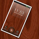GO Locker Mahogany Wood Theme