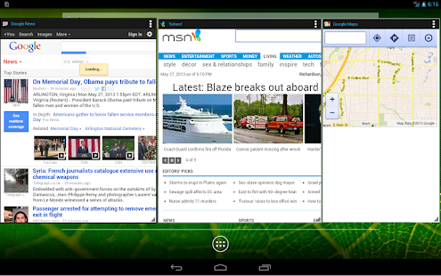 Popup Browser- screenshot thumbnail