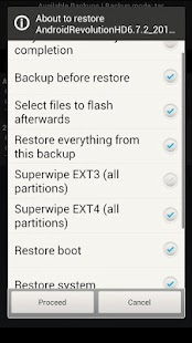 4EXT Recovery Control - screenshot thumbnail