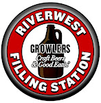 Logo for The Riverwest Filling Station