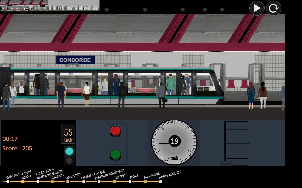 Paris Métro Simulator – Applications Android sur Google Play