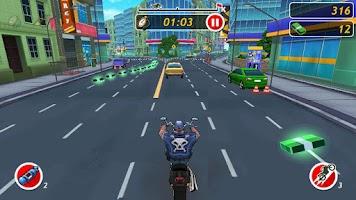 Screenshot of Moto Locos - Bike Racing