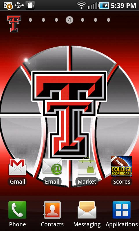 Texas Tech Revolving Wallpaper - screenshot