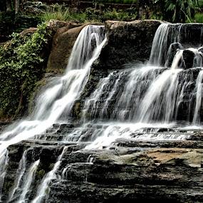 amazing waterfall... by Mia Sismadi - Landscapes Travel