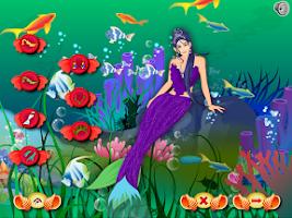 Screenshot of Mermaid Dress Up