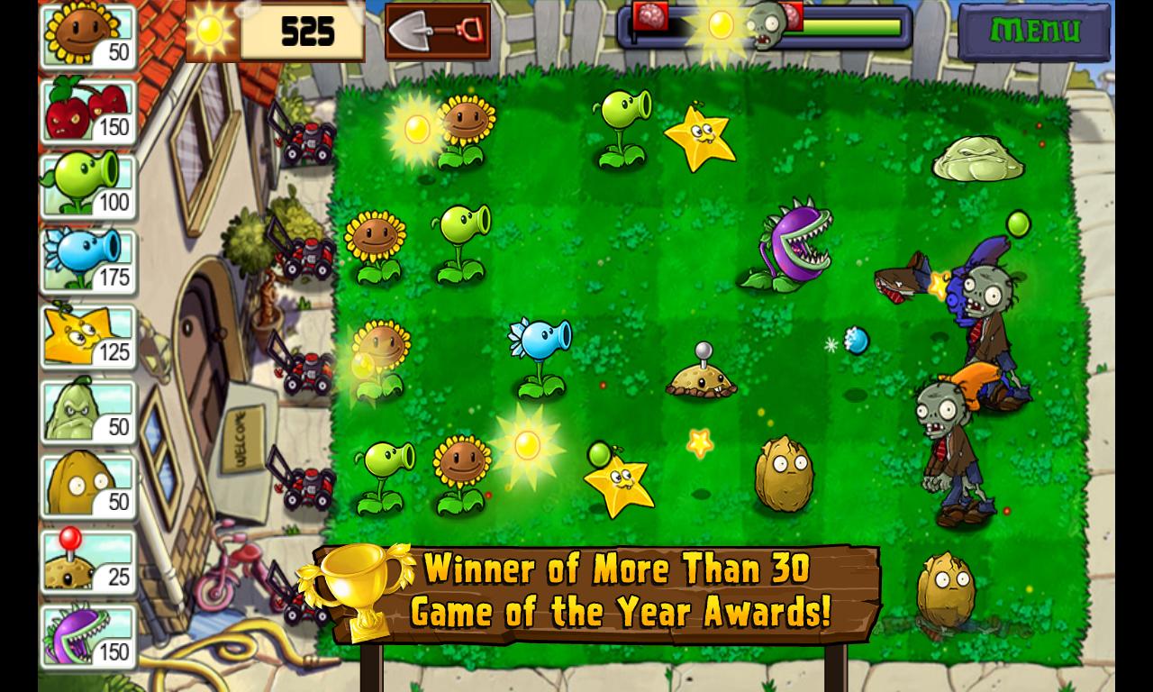Plants vs. Zombies™ screenshot #1