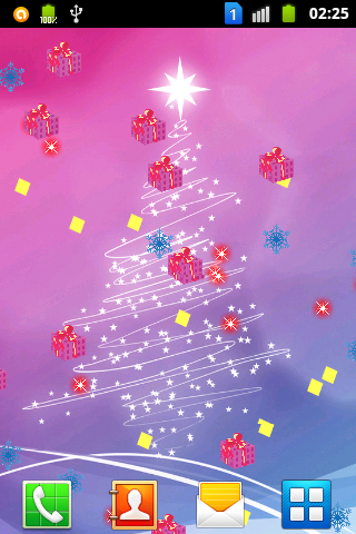 Christmas Greeting LiveWallpap