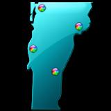 Vermont Fishing Maps - 2.5K