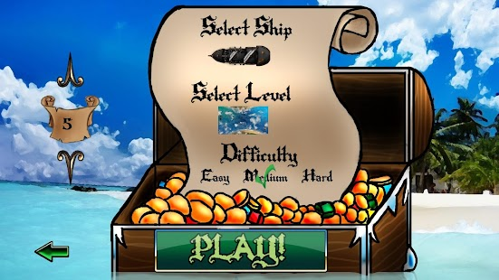 Super Pirate Paddle Battle - screenshot thumbnail