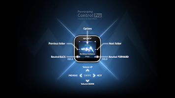 Screenshot of PowerampControl Pro SmartWatch