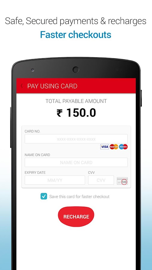 Mobile Recharge & Pay Bill - screenshot
