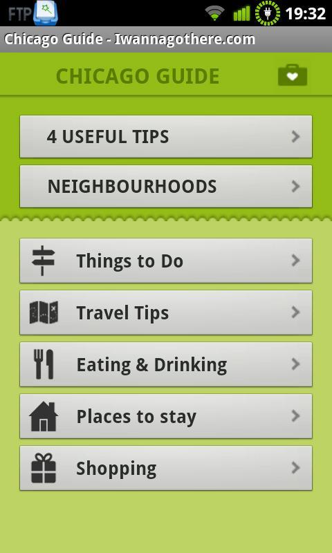 Chicago Travel Guide- screenshot