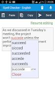 Screenshot of Spell Checker - Spelling boost