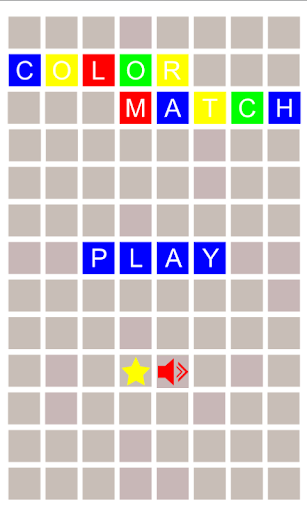 Color Match Memory Game
