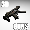 Guns -  3D Gun Free icon