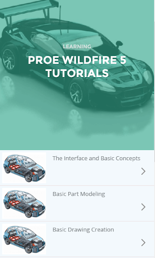 玩教育App|Learn Pro Engineer Wildfire免費|APP試玩