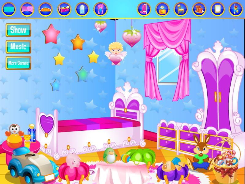 Baby Room Decorating Games Android Apps on Google Play