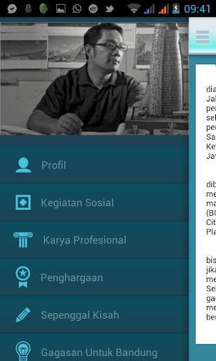 Ridwan Kamil Untuk Bandung 1