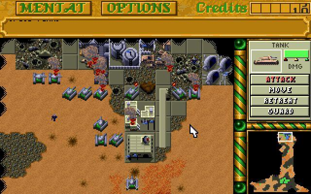 Dune 2 - screenshot