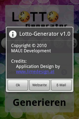 LottoGenerator- screenshot