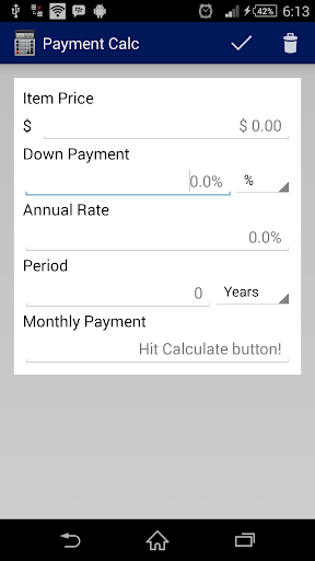 Payment Calc
