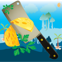 Angry Ninja Cut The Fly Cheese icon