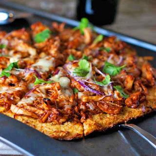 Light BBQ Chicken Pizza