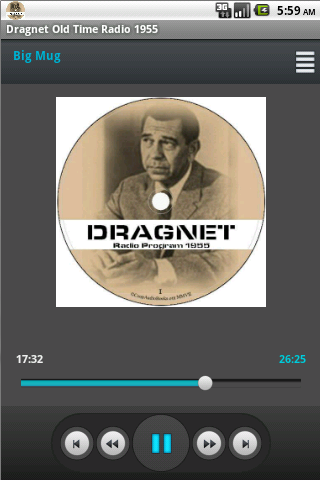 Dragnet Old Time Radio 1955 - screenshot