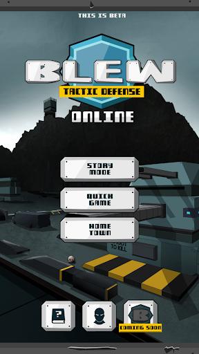 Blew Tactic Defense Online